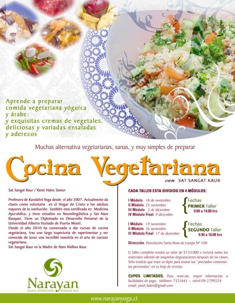 Taller de cocina vegetariana - Escuela de cocina vegetariana ...