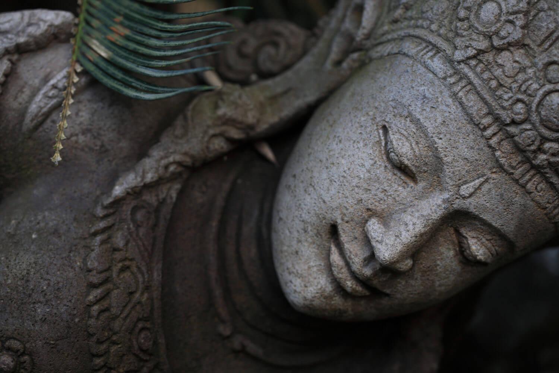 bigstock Portrait of a Buddha statue 16690445