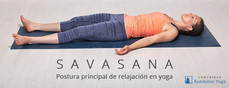Savasana, postura de muerto