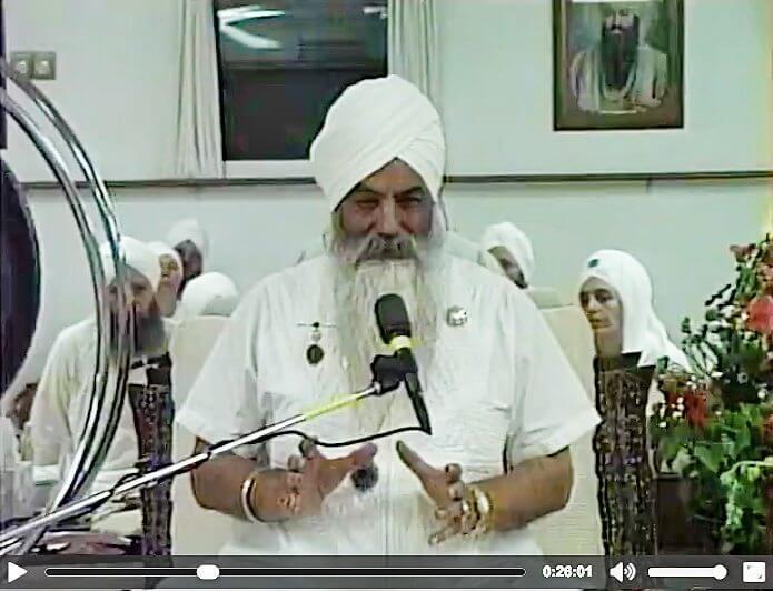 Conferencia Yogi Bhajan