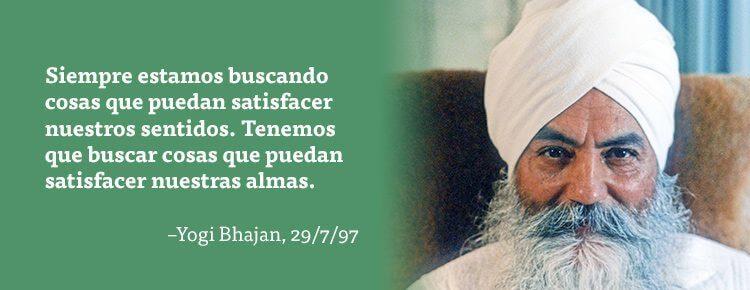 Frases de Yogi Bhajan