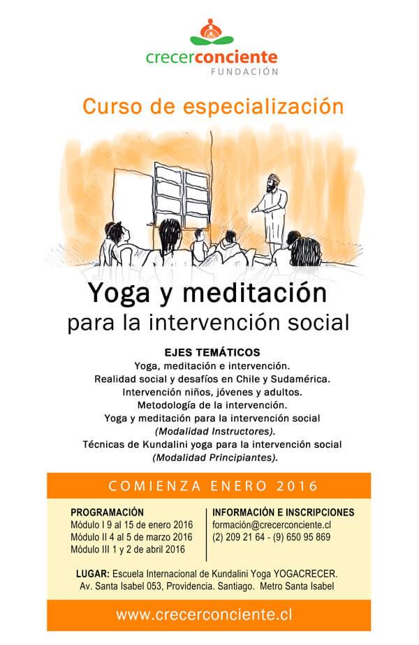 diplomado meditacion intervencion social