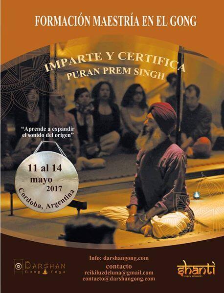 curso de gong en argentina