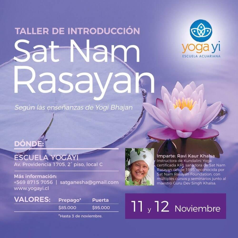 Ravi 11 y 12 Nov. Yogayi.