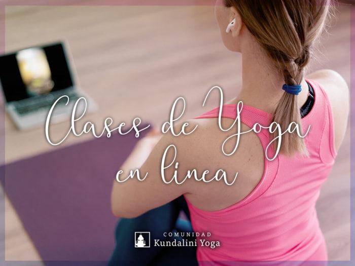 Imagen clases de yoga en línea