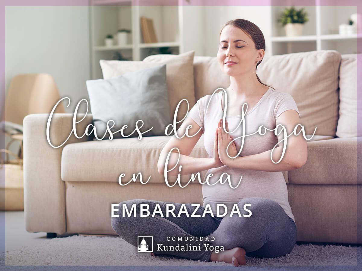 imagen Clases de Yoga en línea para Embarazadas
